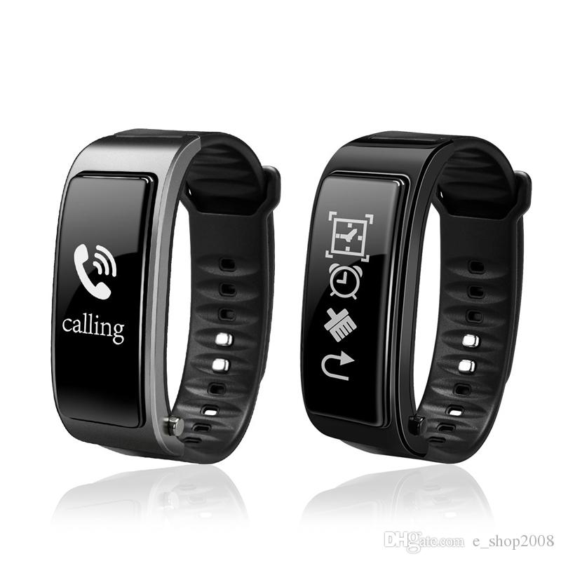 Y3 Smart Watch Bracelet 2 in 1 Bluetooth Headphones Headset Heart Rate Monitor For iPhone Samsung Smartphones DHL free