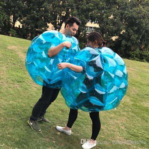 Zorb Football 3ft Inflatable Bubblefootball Body Zorb Balls 90cm for Kids Outdoor Bump Games Free Shipping