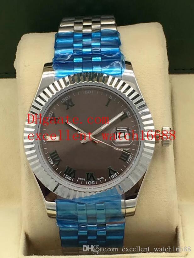 Orologi di lusso di moda DATA SOLO 41 mm 126333 ASTAX 2813 AUTICALE AUTOMATIC MECCANICO STEE GOUSTORY OROLOGIO da uomo orologio da polso