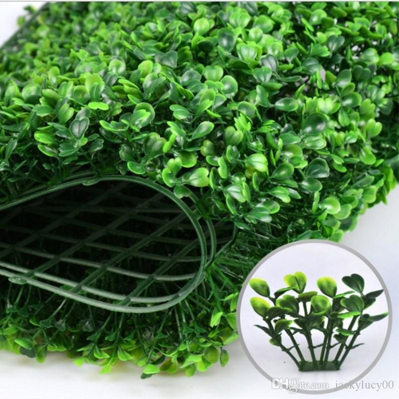 Simulation Fake Plant Artificial Encryption Plastic Grass Mat Green Lawn Turf 40X60 cm For Home Garden Decorations Free Shipping