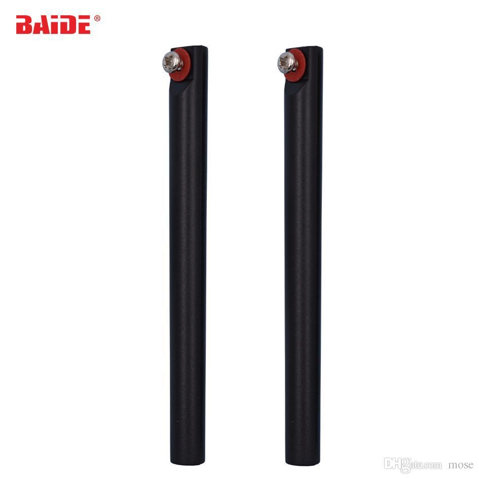 Negro mango de plástico para cortar alambre de molibdeno para el teléfono móvil LCD roto pantalla táctil Separar Reemplazar 200pcs herramientas de reparación de piezas / lot