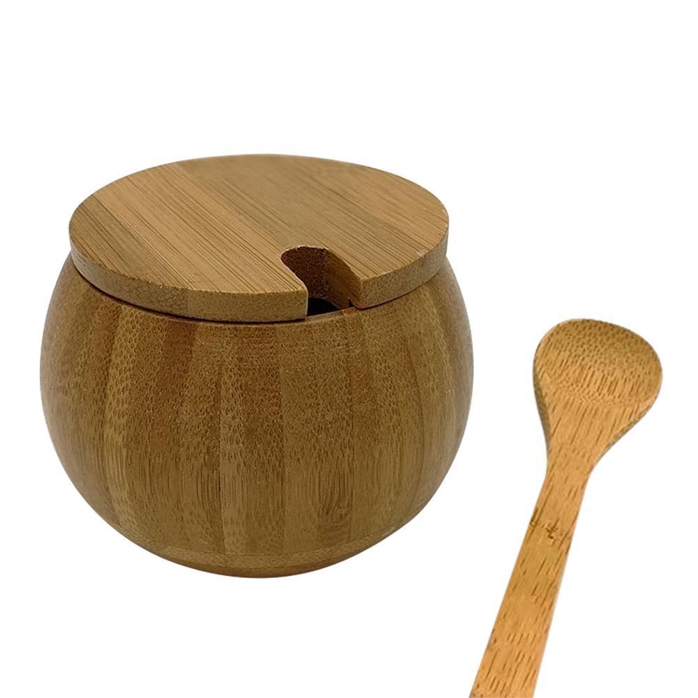 Salero Tapa Bamboo La Sal