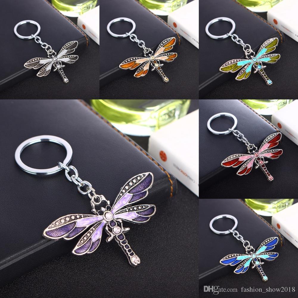 Butterfly Shape Alloy Key Chain Key Ring Handbag Accessories Key Holder