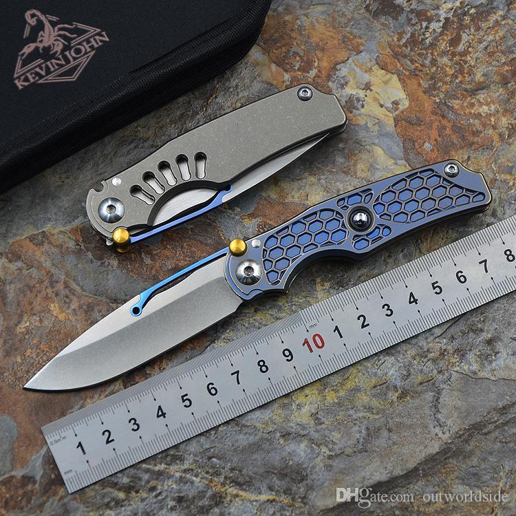 Kevin john Pocket collection нож VENOM Tilock M390 из нержавеющей стали складной нож titanium открытый кемпинг карманный нож с нейлоновой оболочкой
