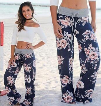 Amazon WISH Venta caliente Pantalones casuales con bolsillos Europa y Estados Unidos Moda Bbaggy Camuflaje Impreso Pantalones al por mayor