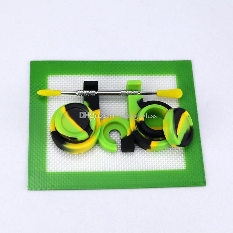 E836 Atacado 2 em 1 caixa de silicone, melhor comida de qualidade 2 em 1 silicone recipiente caixa HOT!