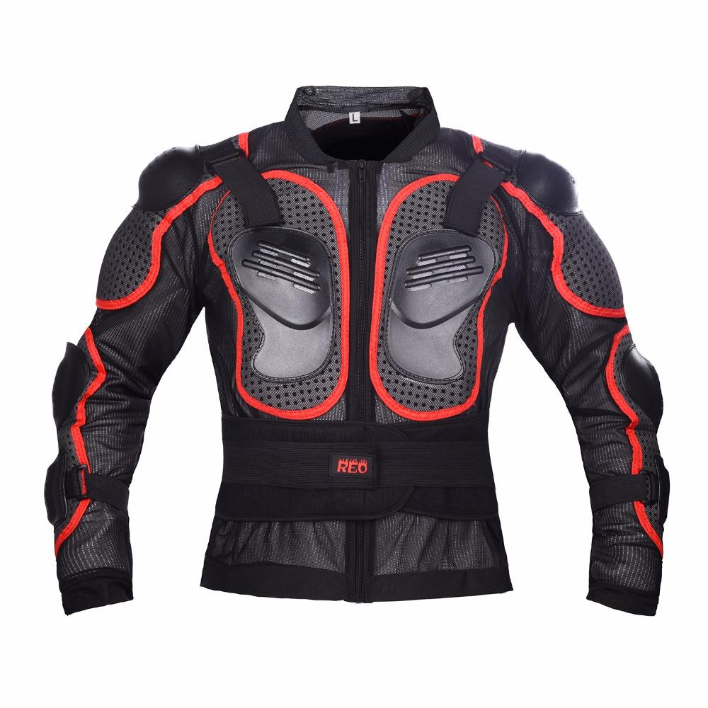 Reomoto enfant femme 's moto veste de protection complète de course, Motocross Racing veste de protection S-XL