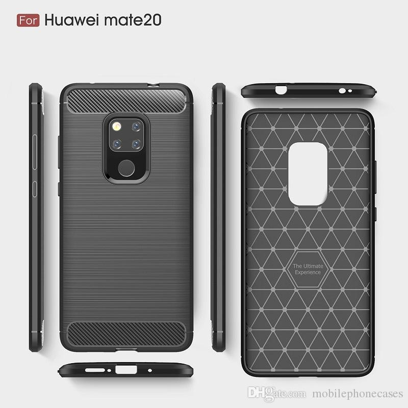 DHL livre mobile phone cases para huawei mate20 pro capa tpu macio cabido capa para huawei mate20 smartphone case para mate20x