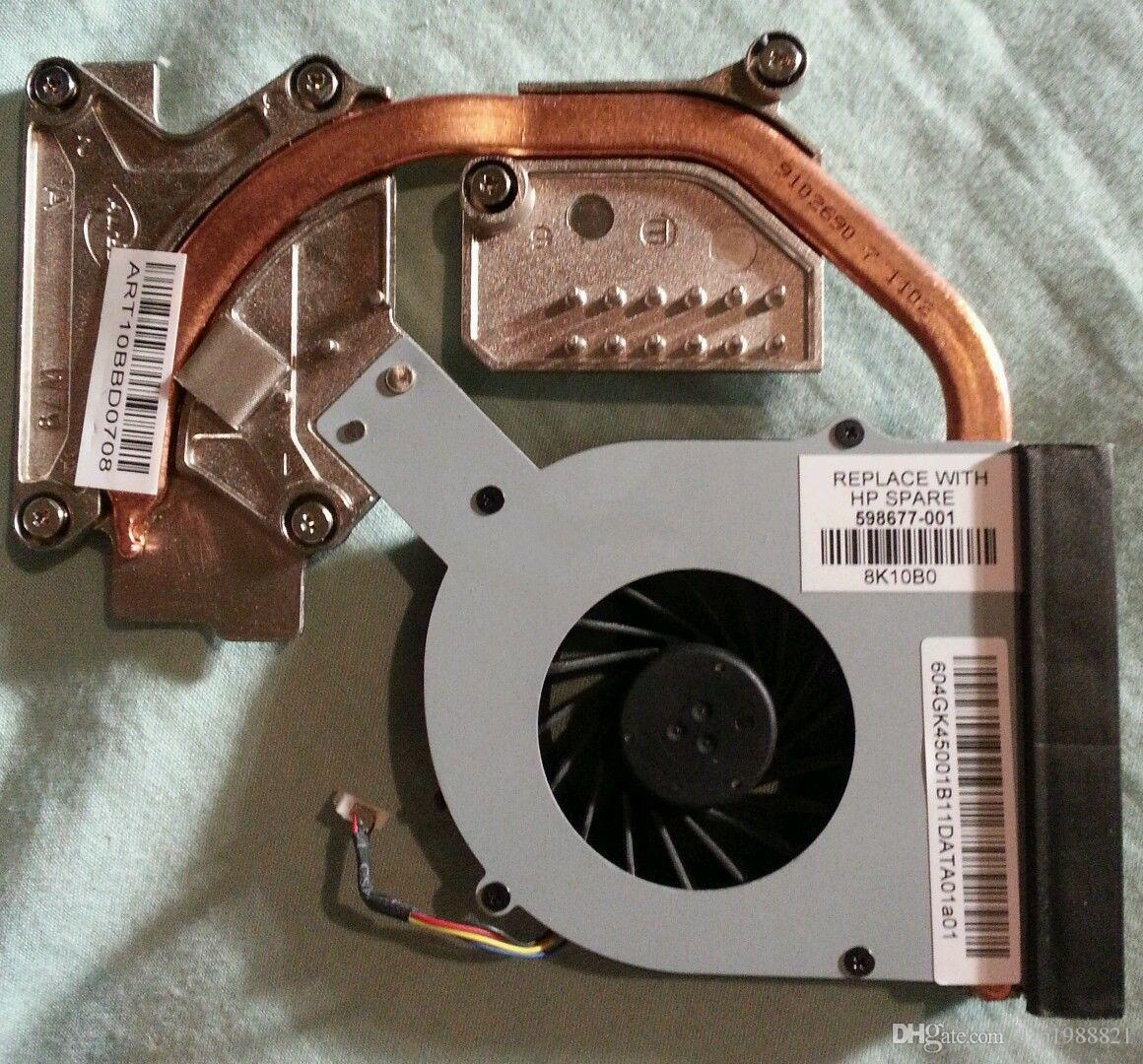dispositivo di raffreddamento per il dissipatore di calore HP 4520S 4720S con ventola 598677-001