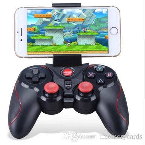 2018 핫 S5 무선 블루투스 게임 패드 게임 컨트롤러 컨트롤러 리모콘 조이스틱 안드로이드 타블렛 콘솔 아이폰
