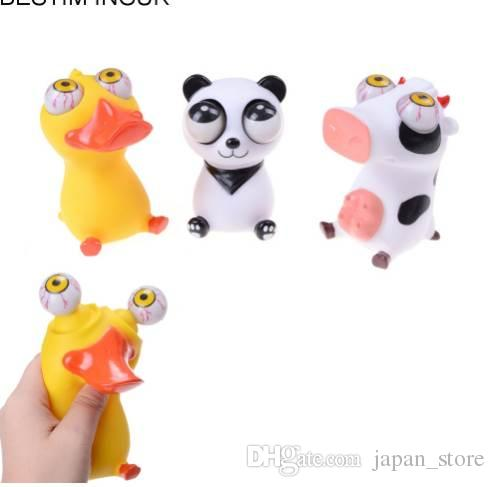 Funny Cartoon Animal Small Squeeze Antistress Toy Pop Out Eyes Doll Stress Relief Venting Joking Decompression Toy Office Stress Buster Toys Good Stress Relievers From Japan Store 12 65 Dhgate Com