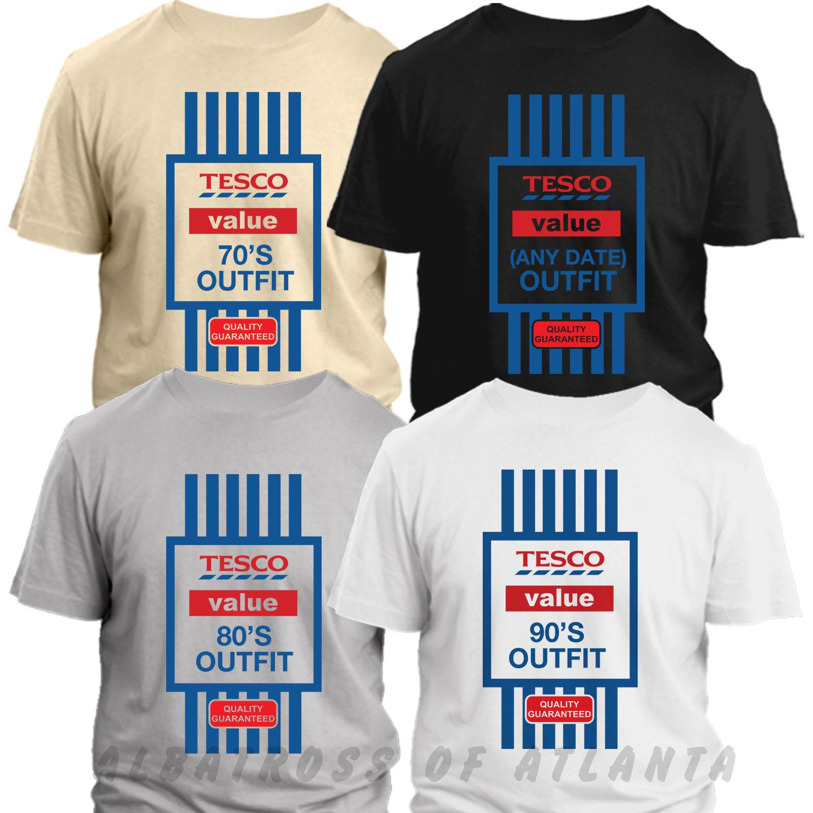 Mens Funny 70th Birthday T-Shirt Tesco Value Style