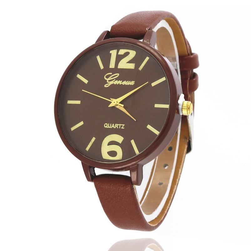 Korean Version Simple Couple Wrist Watches Fashion Leather Strap Lover Quartz Watch Creative For Women Men Clocks Relogio Saat