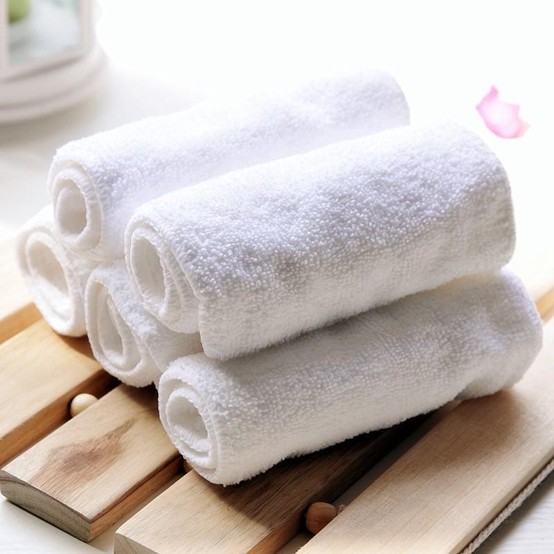 2pcs Pañales reutilizables de bambú natural de la fibra de 3 capas absorbentes espesantes Washbale pañales para bebés de pañales Liners Soft Care