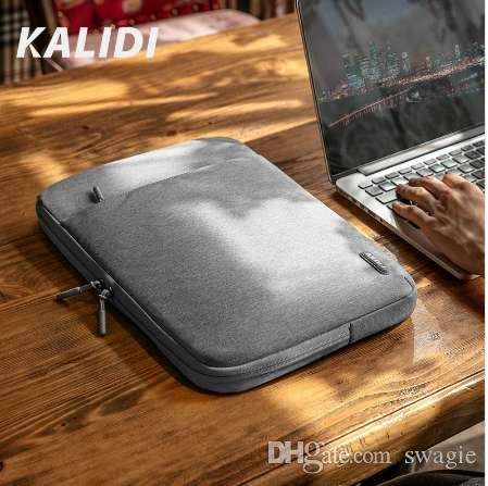 KALIDI Laptop Sleeve Bag 11.6 12 13.3 14 Custodia da 15.6 pollici per MacBook Air Pro 13 15 Asus HP Acer Sleeve Uomo Donna