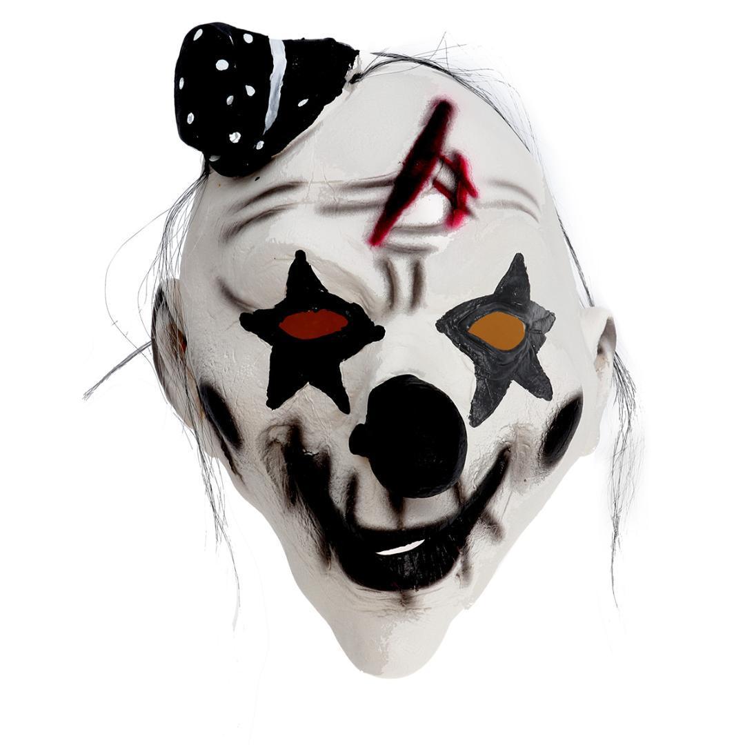 Maschera Horror Maschera Con Nero Panno CARNEVALE HELLOWEEN vari modelli