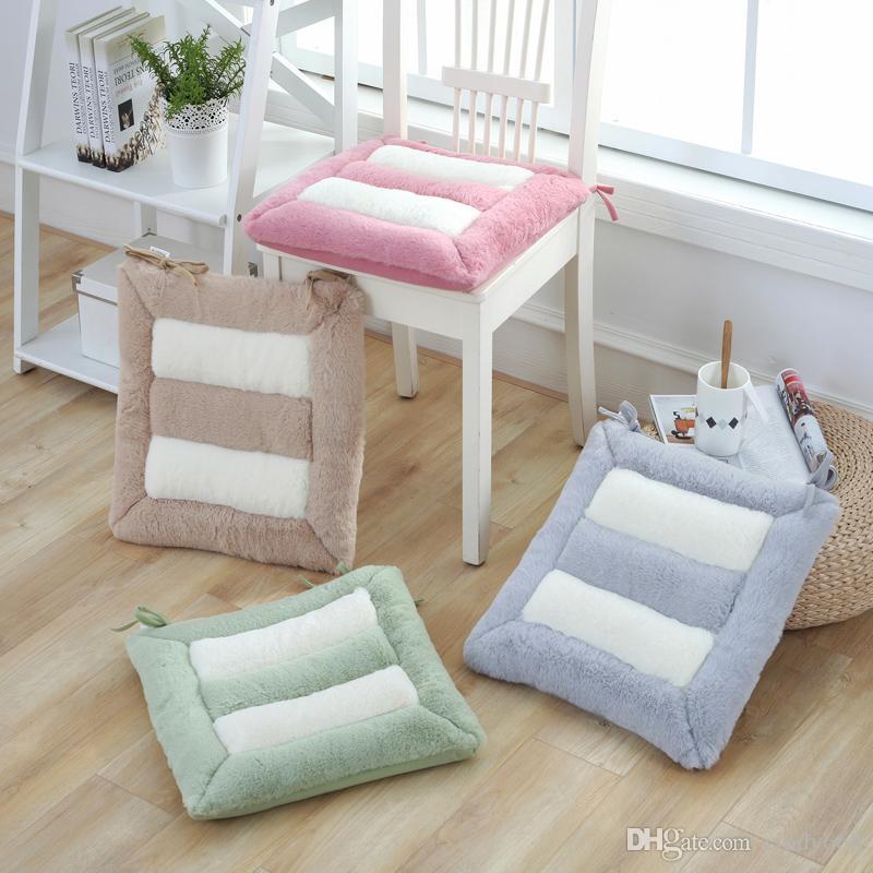 Kore Basit Tarzı Cojines Decorativos Para Kanepe Kalınlaşmış Minder Ev Dekorasyonu Sandalye Minderi Çok Amaçlı Ofis Koltuğu Dışkı