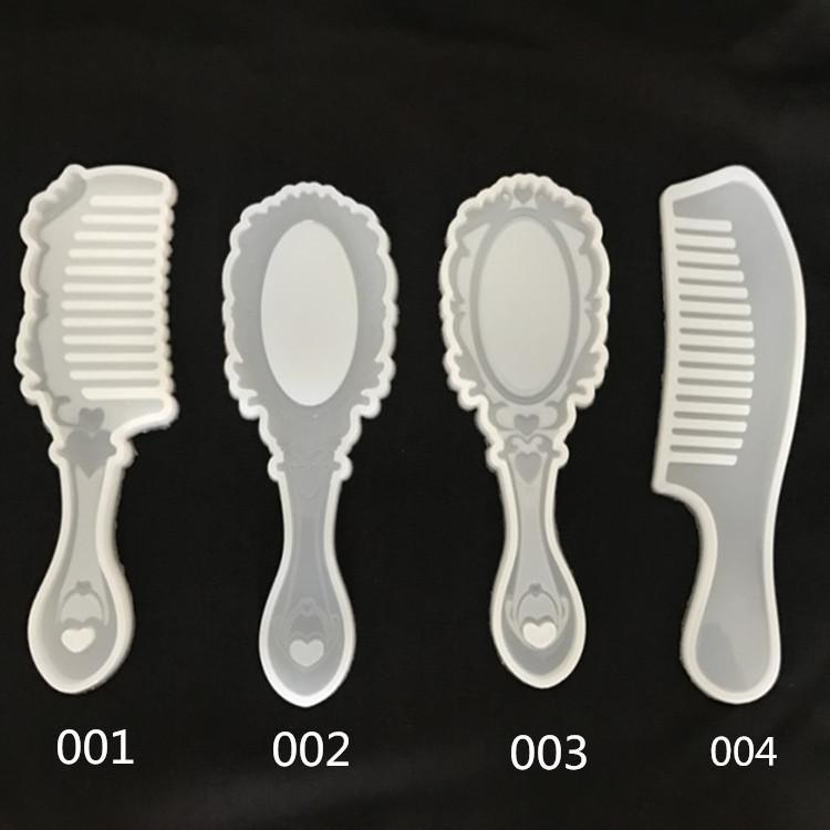 مرآة الشعرية مطحنة إنهاء كريستال الغراء الأشعة فوق البنفسجية الراتنج المطاط دليل السيليكا جل الكرتون رائعتين. مشط العفن العفن سيليكون