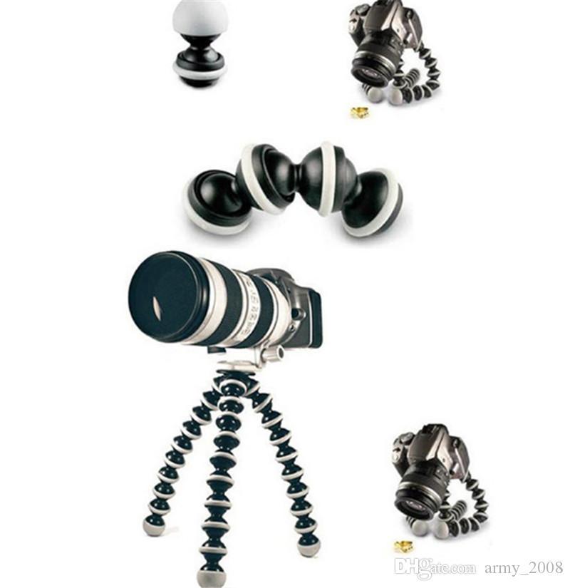 Большой Octopus Гибкий штатив Стенд Gorillapod 1 4 и 3 8 Винт для камеры Digital для DV Canon Nikon