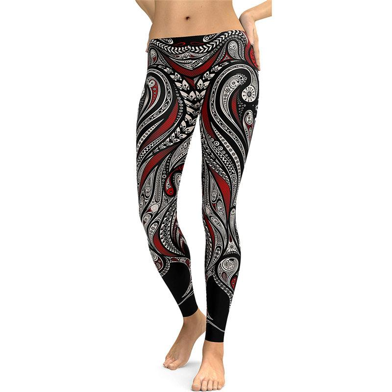 Gothic Leggings Fitness Clothing For Women Sporting Pants Skinny Running Pants 3D Digital Printing Sexy Pencil Jeggings Free Shipping