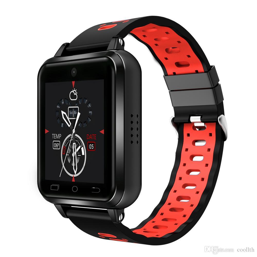 Finow Q2 4G الذكية ووتش Q1 النقيض برو تحديث أندرويد 6.0 MTK6737 رباعية النواة 1GB / 16GB ساعة ذكية الهاتف معدل ضربات القلب مقياس الخطو