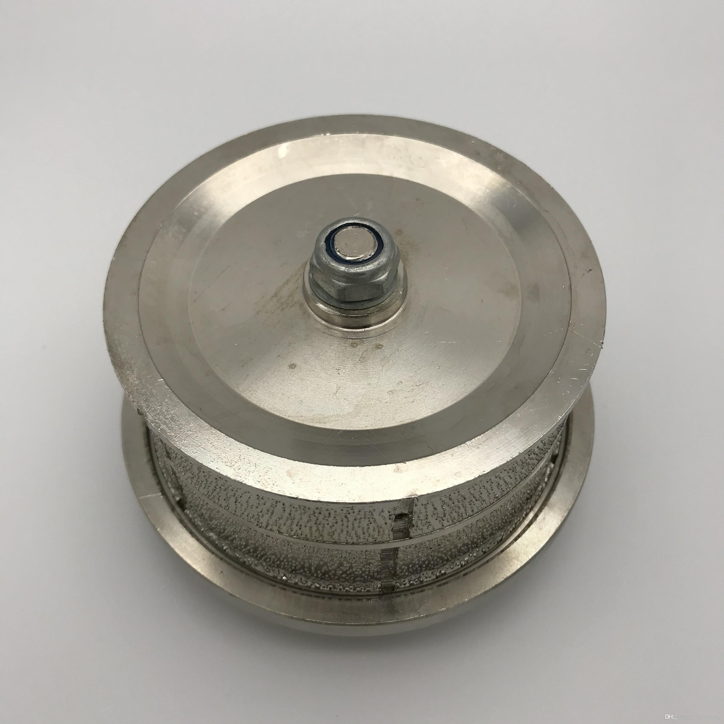 Vacuum Brazed Hand Profiler T40 for Granite Marble Limestone Profile Wheel Diamond Router Bit Thread M14 or 5/8-11