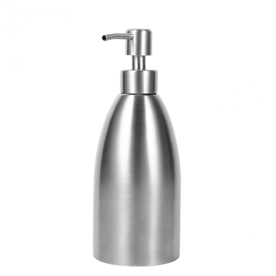 2019 500ml Stainless Steel Soap Dispenser Kitchen Sink Faucet Bathroom  Shampoo Box Soap Container Deck Mounted Detergent Bottle From Angehome,  $7.96 | ...