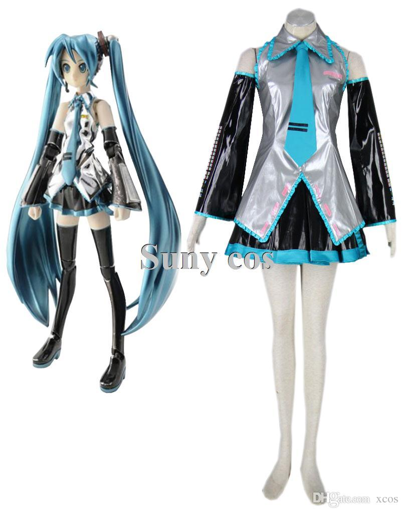 Vocaloid Hatsune Miku Anime Halloween Cosplay Costume