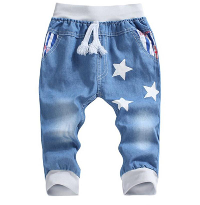 Boys Pants Fifth Jeans For Children Pants For Boys Soft Capris Trousers  2016 Summer Boys Jeans Kids Elastic Wasit Pant 2T 6T Kids Miss Me Jeans On  Sale Seven Jeans Baby From