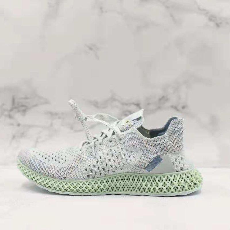Futurecraft Alphaedge 4D LTD Aero Ash Print White B96613 Kicks Men Running Sports Shoes Sneakers Trainers With Original Box