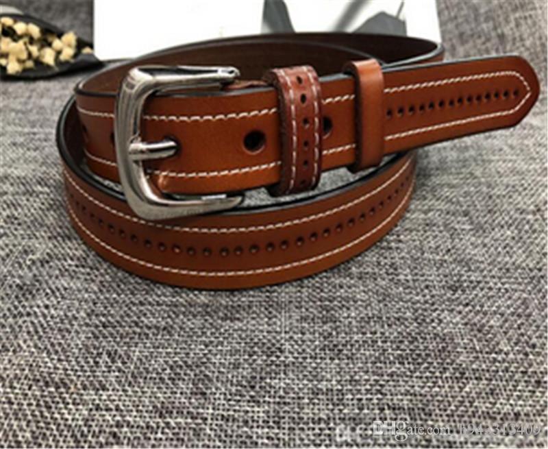 High quality designer belts men Jeans belts styles Cummerbund belts For men Women Metal Buckle