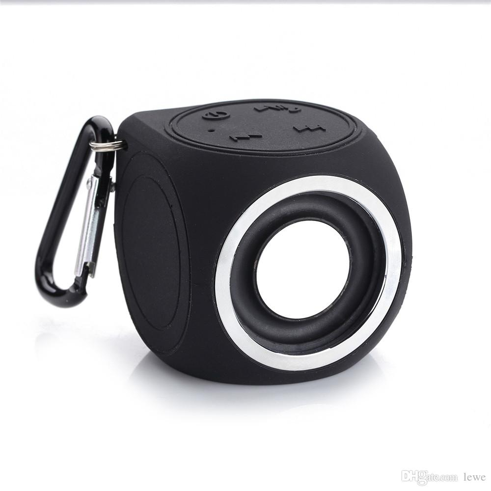 Brand new wholesale waterproof wireless subwoofer bluetooth speakers portable speakers outdoor sport small mini speakers 3W free shipping
