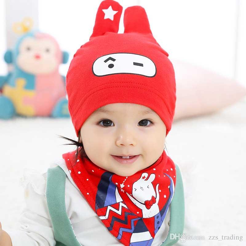 8859fb14e6c DreamShining Baby Hat Kids Newborn Knitted Cap Crochet Solid Children  Beanies Boys Girls Hats Headwear Toddler Caps Accessories