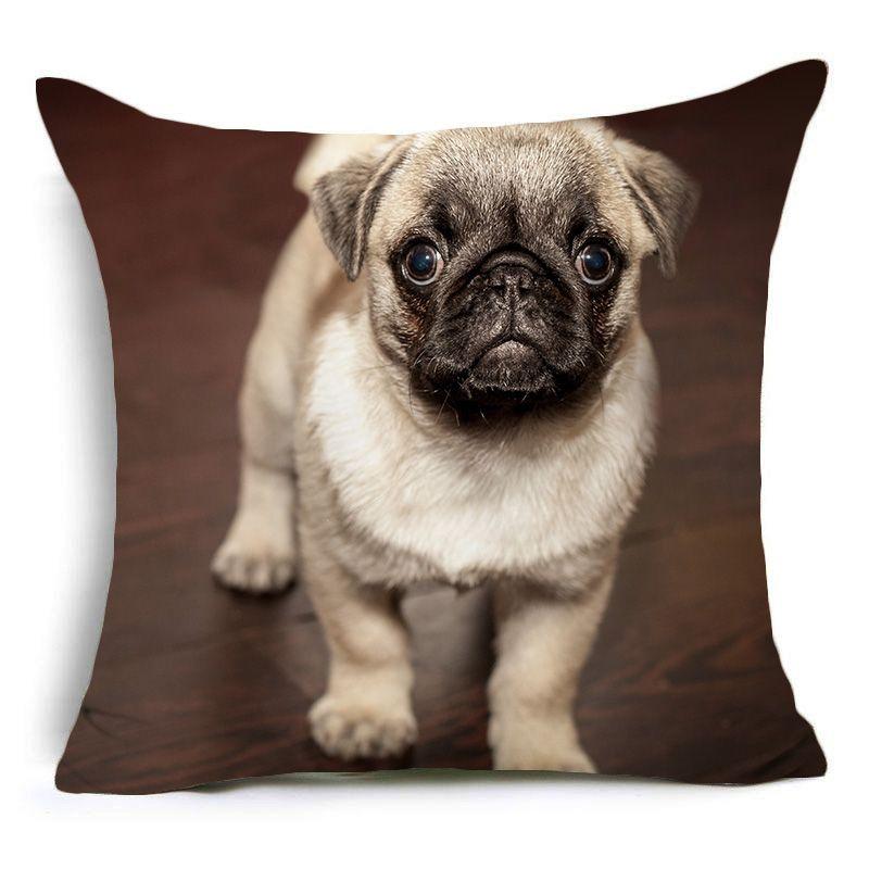 Modelli Cuscini Per Divani.Comwarm Funny Cute Puppy Cani Cuscino Modello Carlini Poliestere