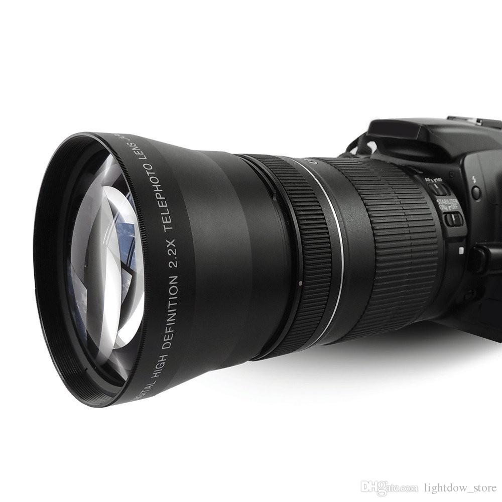67mm 2.2X High Definition Digital Telephoto Lens For Canon 550D 600D 650D 700D 750D 800D 77D 6D 7D Nikon DSLR Camera lens