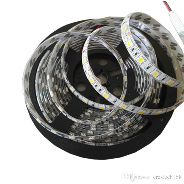 LED 스트립 빛 12V SMD3528 5050 5630 300 스트립 비 방수 리본 유연한 스트립에 대 한 홈 바 장식 Lampada Led 5M roll RGB