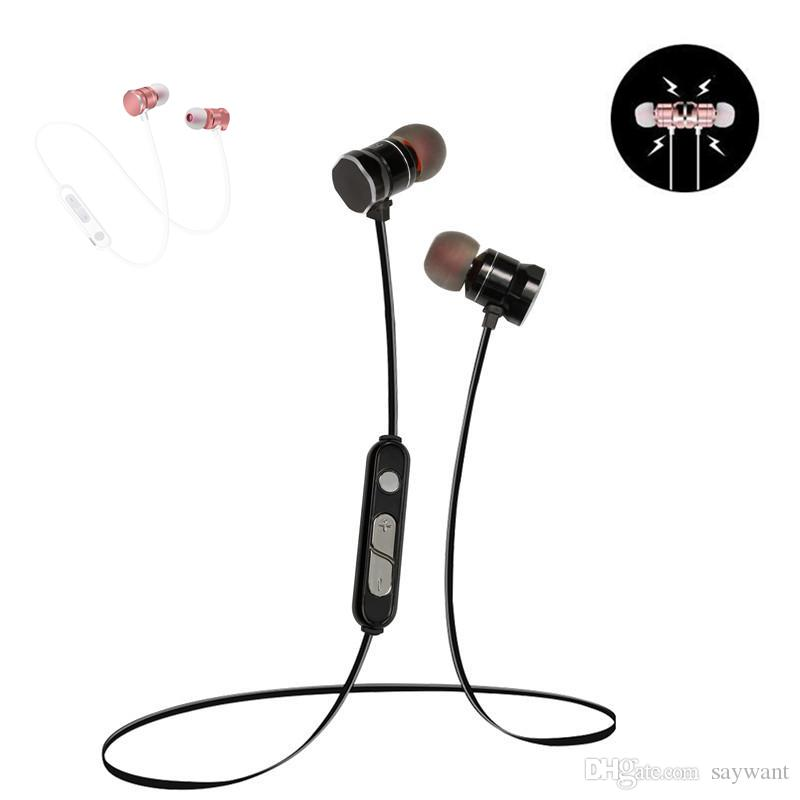 In-Ear X3 Magnetic Bluetooth Headphone Metal Earphone Waterproof Sweat-proof Sports Stereo Wireless Headset Microphone Smart Phone Universal