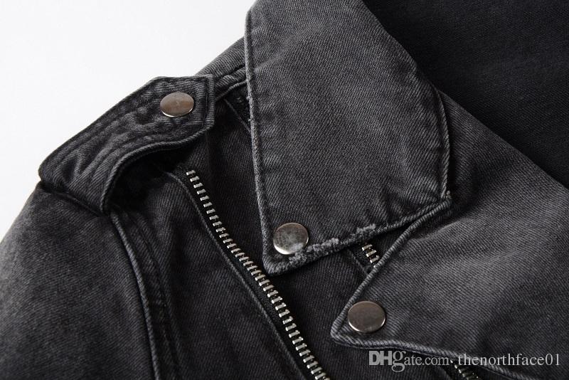 Acquista Balmain Mens Designer Giacche Moda Uomo Donna Giacca Di Jeans Casual Hip Hop Designer Giacca Abbigliamento Uomo Taglie M 4XL A $138.08 Dal