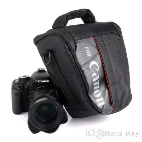 ماء DSLR كاميرا حقيبة الحال بالنسبة لكانون EOS 1300D 1200D 1100D 750D 800D 200D 60D 77D 70D 5D 6D 7D 100D 760D 700D 600D 650D T7