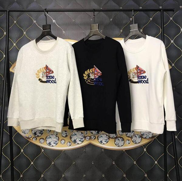 fee7d8f2fbd1c 18ss England London Autumn Winter Fashion Knight Embroidery Collaborate  Hoodie Men Women Clothes Long Sleeves Casual
