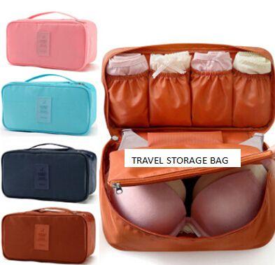 Travel Storage Bag Underwear Socks Organizer Creative Portable Oxford Cloth Waterproof Travelling Handbag Hot Sale Clothing Bags