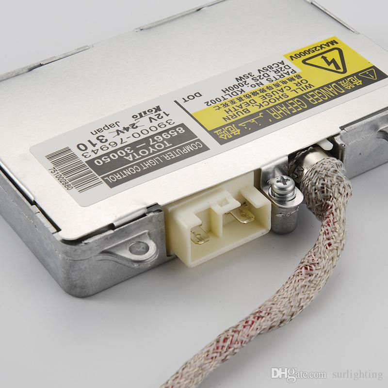 OEM original Koito DENS- KDLT002 85967-30050 D2S D2R 35W HID XENON Balasto y encendedor para faros de faros lexus