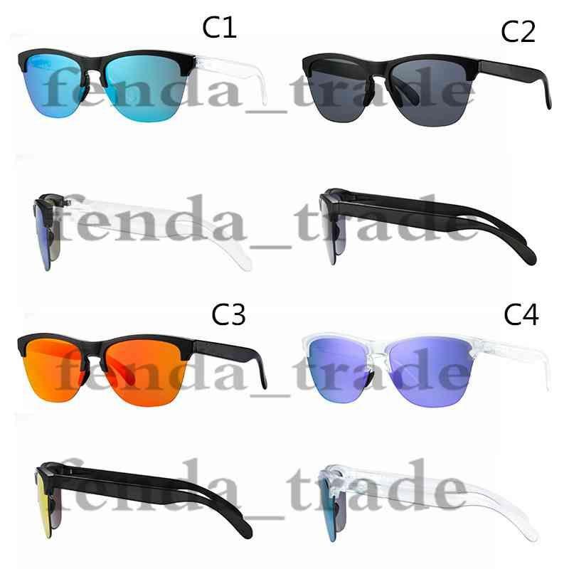 2018 جديد النظارات الشمسية الرجال النساء الاستقطاب tr90 نصف إطار النظارات الشمسية الصيف uv400 الدراجات في الهواء الطلق الرياضة نظارات الشمس موك = 10