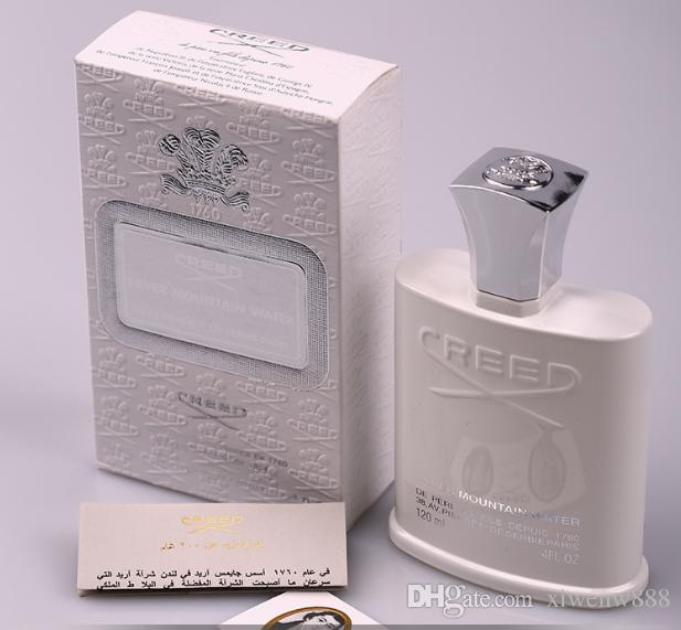 뜨거운 최고 품질 크리 에이 티브 실버 산 물 향수 오래 지속 높은 향기와 남자에 대 한 좋은 품질 120 ml