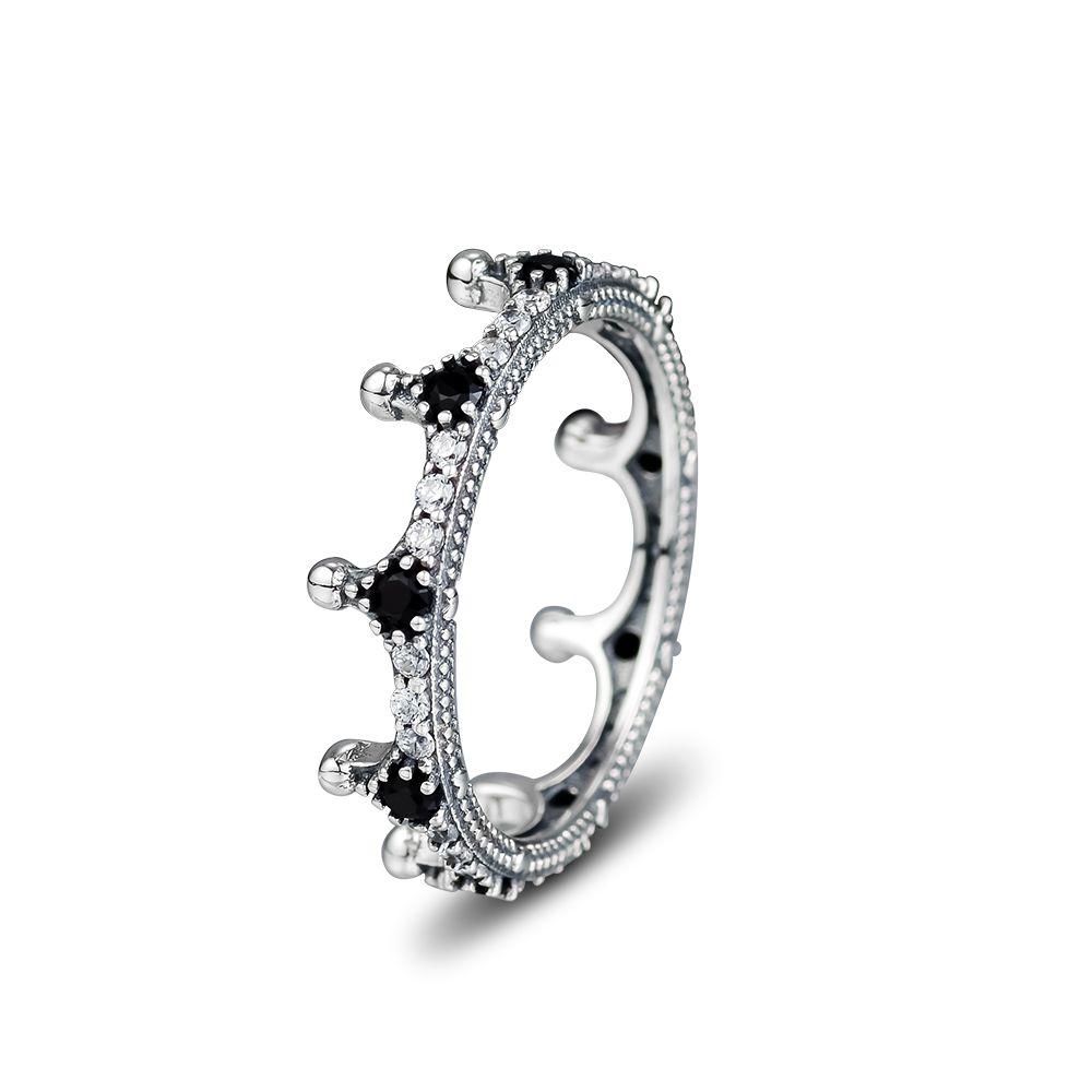 pandora corona anello