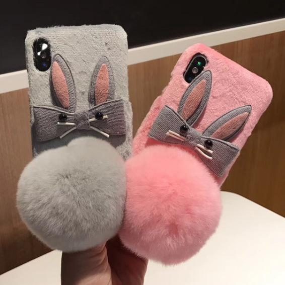 coque iphone xr fourrure