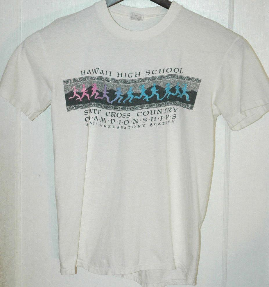 fc3fa3ea12 Vtg HAWAII HIGH SCHOOL T SHIRT Rare Colorful Graphic Tee HAWAIIAN ISLANDS  Design Own T Shirt T Shirt Making From Yuxin02, $13.8| DHgate.Com