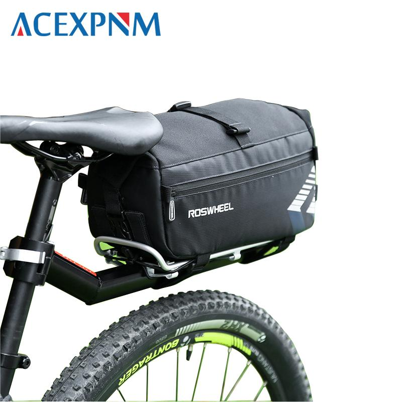Saddle bag bicycle back seat pack large capacity package rainproof brand new