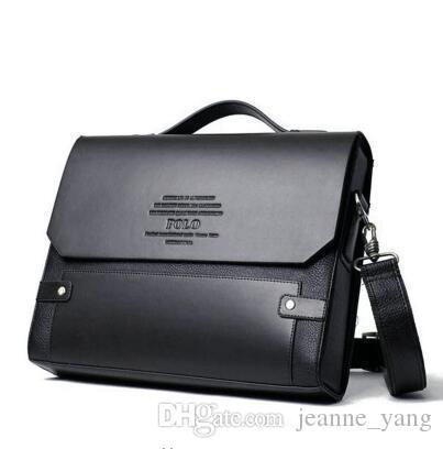 Borse di qualità Visita da uomo in pelle messenger gratuita! Brand High Shipping Shipping Business Bags Bussiness Uomo NKUPD