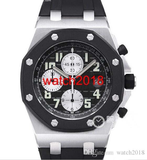 El reloj de lujo de la costa de 42 mm de acero de goma 25940 SK.OO.D002CA.01 cuarzo Relojes para hombre reloj de los hombres de calidad superior
